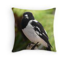 Butcher Bird Throw Pillow
