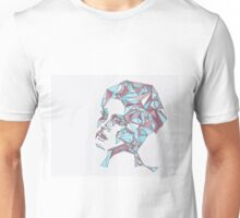 Beautiful Woman Abstract Portrait Unisex T-Shirt