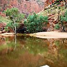 Ormiston Gorge by John Dekker