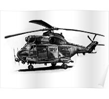 Puma Helicopter Poster