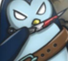 War Penguin Sticker