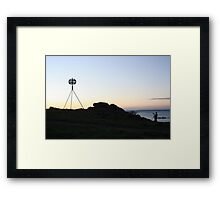 Photographers sunrise Framed Print
