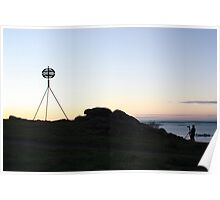 Photographers sunrise Poster