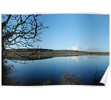 Carran Lake By Reflections Co Clare Ireland Poster