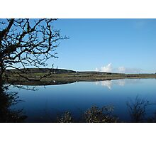 Carran Lake By Reflections Co Clare Ireland Photographic Print