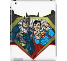 Superman vs. Batman Pawnage iPad Case/Skin