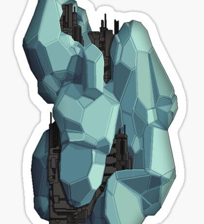 Crystal Cruiser Sticker