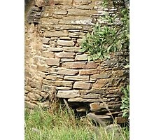 Stone's Stacked Photographic Print