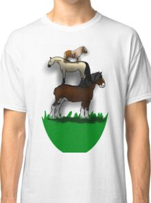 Horse stack Classic T-Shirt