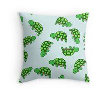 Turtle Pattern Throw Pillow