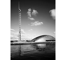 Glasgow In Mono Photographic Print