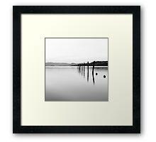 Minimalism Framed Print