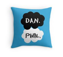 Dan & Phil - TFIOS Throw Pillow