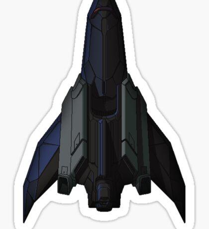 Stealth Cruiser Sticker