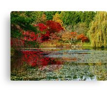 Here comes the Fall Canvas Print