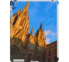 Warm Glow Cathedral - Impressions Of Barcelona iPad Case/Skin