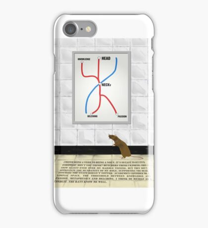 The Mannequin - Neck iPhone Case/Skin