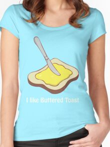 Buttered Toast Women's Fitted Scoop T-Shirt