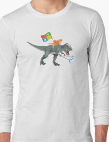 Ninjacat T-Rex Long Sleeve T-Shirt