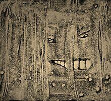 Shower Shock: A Face In The Folds by Helen Chapman
