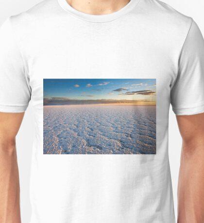 sunrise on Salar de Uyuni Unisex T-Shirt
