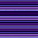 Lilac Lavender Purple Monochrome Stripes by Shelley Neff