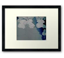Experimental Photography: Holograms Are Surreal Framed Print