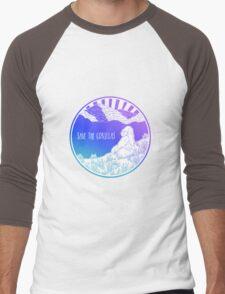 Save the Gorillas! Men's Baseball ¾ T-Shirt