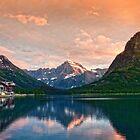 Swiftcurrent Lake by Claudia Kuhn