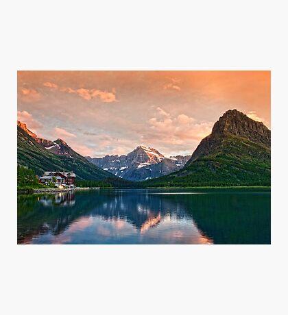 Swiftcurrent Lake Photographic Print