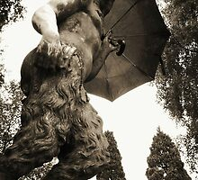 Faun about town - Newstead Abbey, Nottingham. by Hairypoet