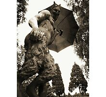 Faun about town - Newstead Abbey, Nottingham. Photographic Print