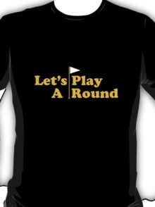 Cougar Town – Let's Play A Round T-Shirt