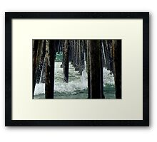 Beneath The Shadows There is Light Framed Print