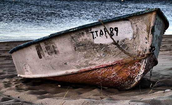 Old Row Boat By Jon Staniland Redbubble