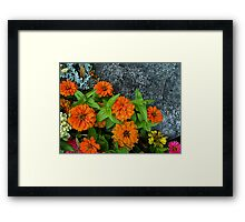 Saturday in the Park Framed Print