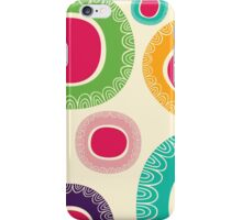 Happy Circle Pattern iPhone Case/Skin