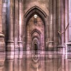 Cathedral Reflections by Shelley Neff