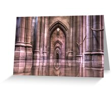 Cathedral Reflections Greeting Card
