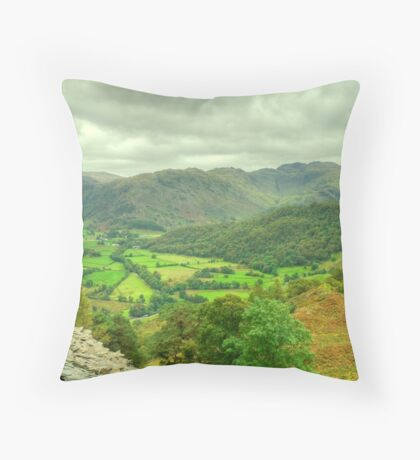 The View South.. Throw Pillow