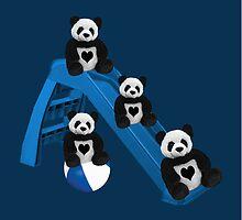 CUTE..PANDAS HAVING FUN..CHILDRENS (KIDS PILLOW-TOTE BAGS ECT) by ✿✿ Bonita ✿✿ ђєℓℓσ