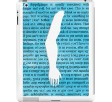 The Mannequin - Right Arm iPad Case/Skin