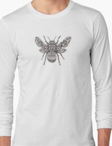 Ornate Bumblebee Long Sleeve T-Shirt