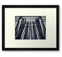 Four To The Ground Framed Print