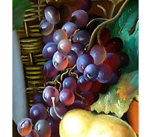 Grapes only Photographic Print