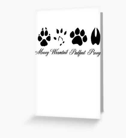 The Marauders Greeting Card