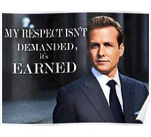 Harvey Specter - Suits Poster