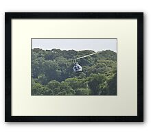 helicopter   boconnic 2010 Framed Print