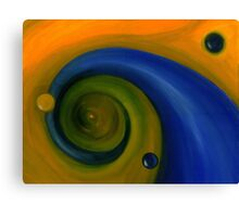 Two Drops in evolution - Stage III Canvas Print