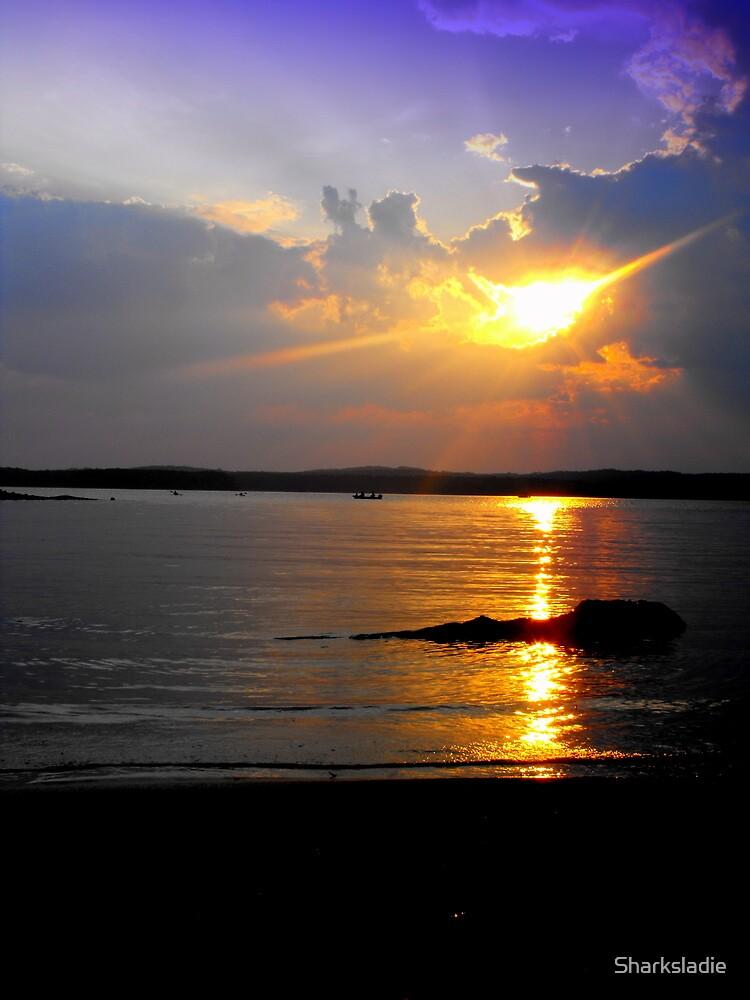 Evening Splendor on Jordan by Sharksladie